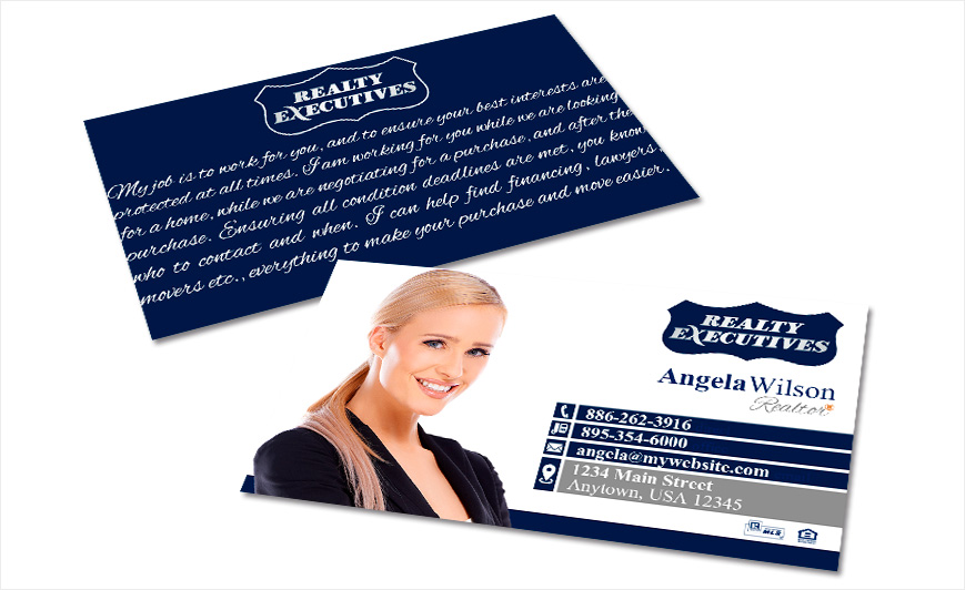 Realty executives business cards realty executives business card ideas realty executives business cards reheart Images