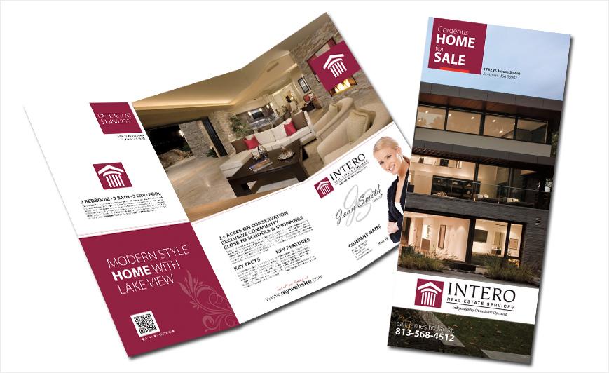 Intero Real Estate Brochures Intero Real Estate Brochure Templates - Real estate brochures templates