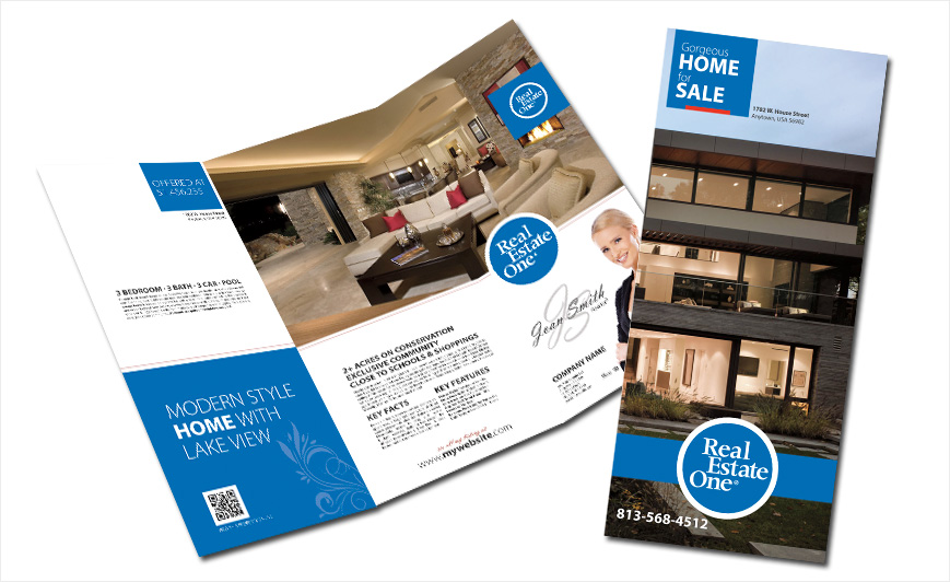 Custom Real Estate One Brochures, Real Estate One Brochure Templates, Real  Estate One Brochure Designs, Real Estate One Brochure Printing And Real  Estate ...