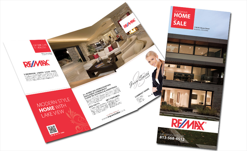 Remax Brochures Remax Brochure Templates Remax Brochure Printing - Custom brochure templates