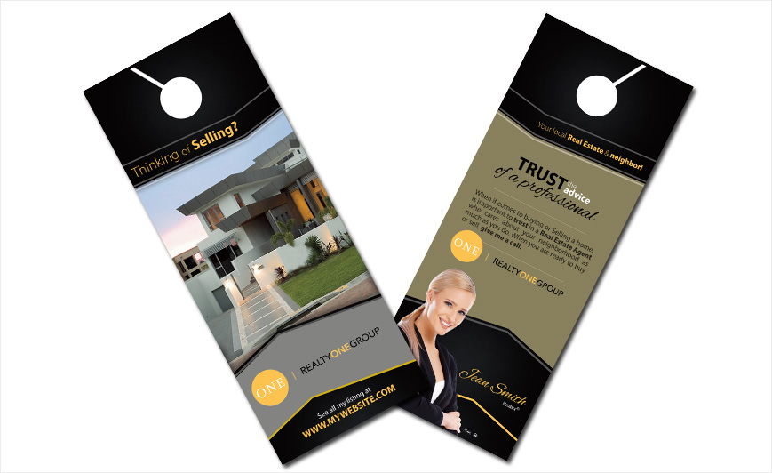 Charming Custom Realty One Group Door Hangers, Realty One Group Door Hanger  Templates, Realty One Group Door Hanger Designs, Realty One Group Door  Hanger Printing ...