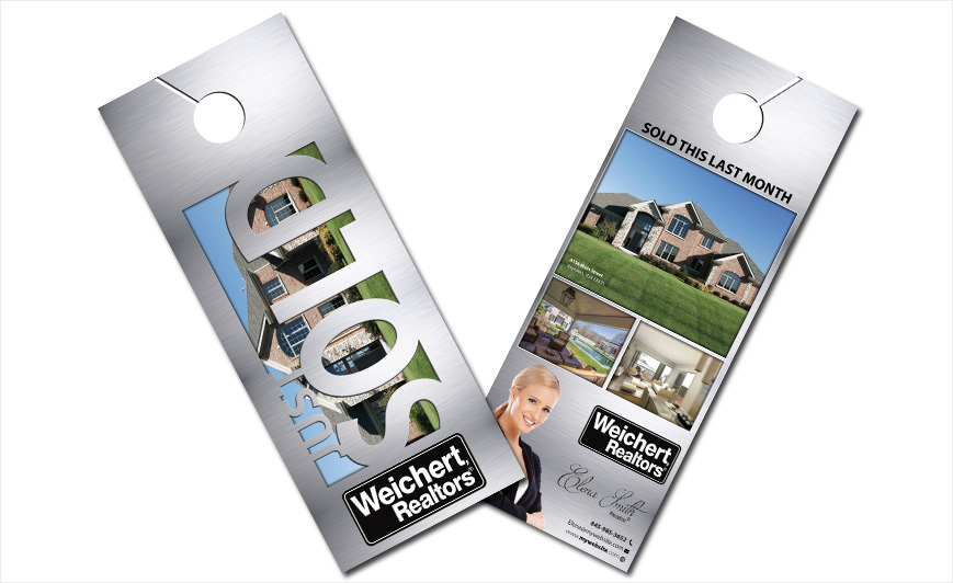 Weichert Realtors Door Hangers  Weichert Realtors Door Hanger Ideas
