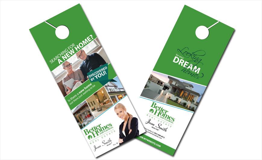 Custom Better Homes And Gardens Door Hangers, Better Homes And Gardens Door  Hanger Templates, Better Homes And Gardens Door Hanger Designs, Better  Homes And ...