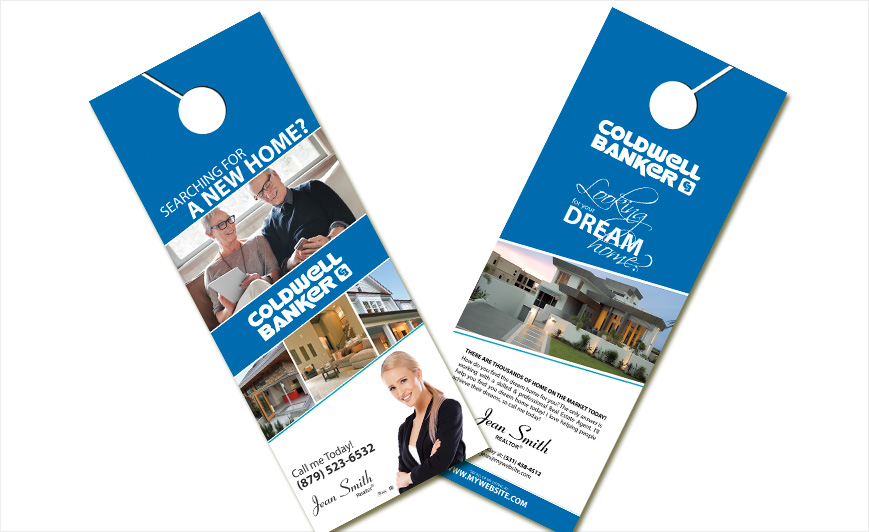 Coldwell Banker Door Hangers Coldwell Banker Door Hangers Templates - In session door hanger template