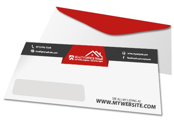 real estate envelopes real estate agent envelopes realtor envelopes