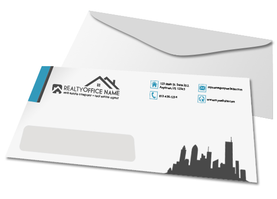 Real Estate Envelopes | Real Estate Agent Envelopes | Realtor Envelopes