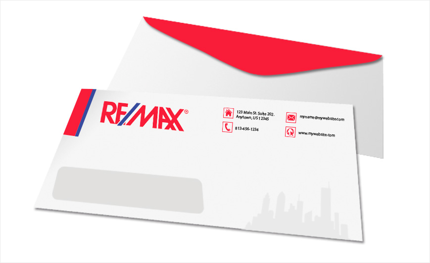 Remax Envelopes | Remax Envelope Templates, Remax Envelope Printing