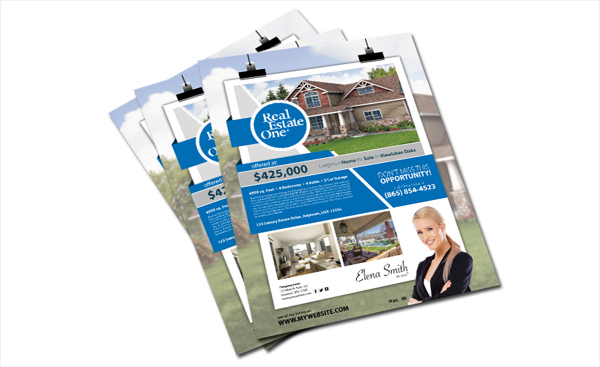 Real Estate Door Hanger Template real estate one door hangers | real estate one door hanger templates