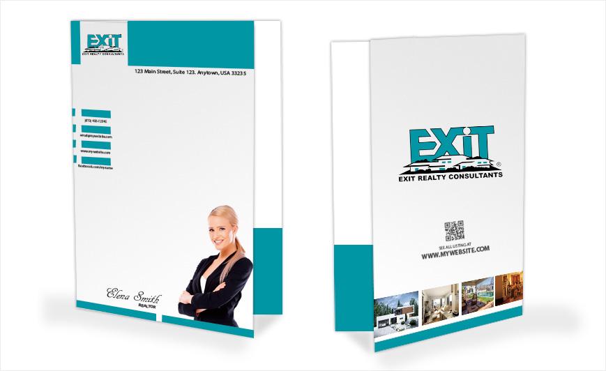 Exit Realty Door Hangers | Exit Realty Door Hanger Templates