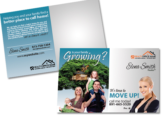Real Estate Postcards | Real Estate Agent Postcards, Real Estate Office Postcards, Realtor Postcards, Real Estate Broker Postcards