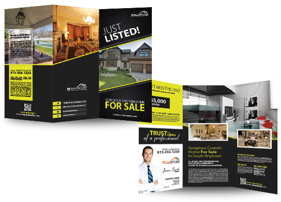 Real Estate Brochures, Real Estate Agent Brochures, Real Estate Office Brochures, Realtor Brochures, Real Estate Broker Brochures