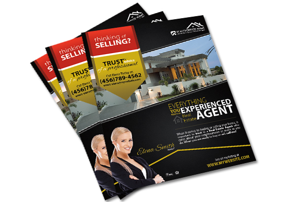 Real Estate Flyers, Real Estate Agent Flyers, Real Estate Office Flyers, Realtor Flyers, Real Estate Broker Flyers, Real Estate Investor Flyers