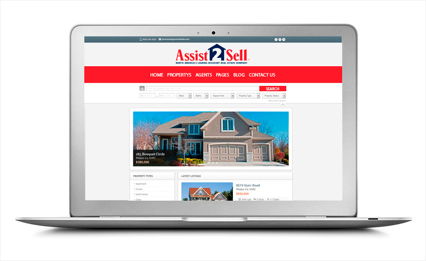 Assist 2 Sell Websites | Assist 2 Sell Website Templates