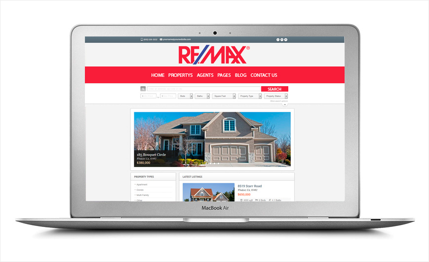 Remax letterheads remax letterhead templates click here to get started spiritdancerdesigns Choice Image