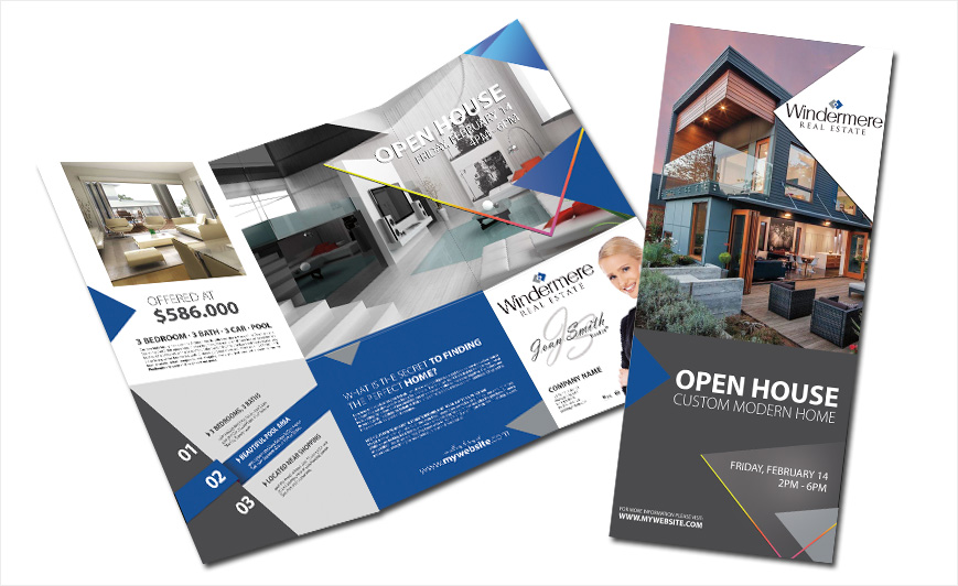 real estate brochure templates