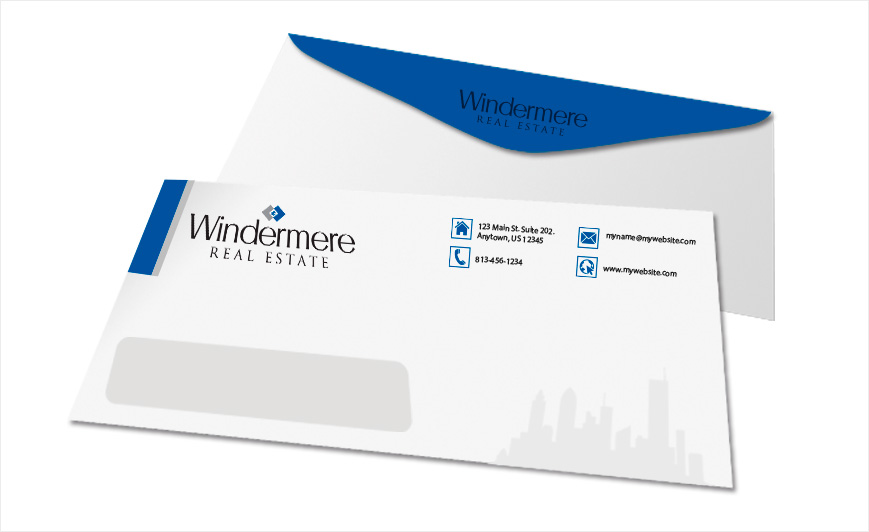 Windermere Real Estate Envelopes | Windermere Envelope Templates