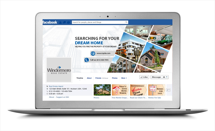 Windermere Real Estate Facebook Graphics | Social Media Services