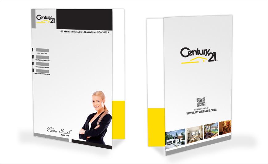 Century 21 Business Cards Template
